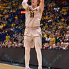 Wichita State Shockers guard RON BAKER (31) takes a 3 point jump shot at the Missouri Valley Conference, Arch Madness Tournament game three where Wichita State defeated Southern Illinois by the score of 56-45