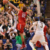 NCAA Basketball 2015-Illinois State upset Wichita St. 65-62