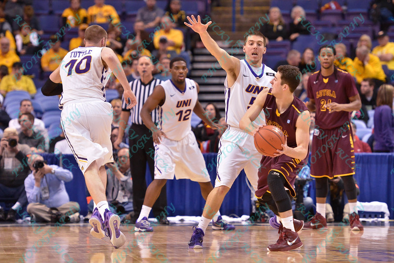 NCAA Basketball 2015-UNI beat Loyola (C) 63-49