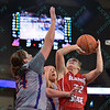 NCAA W Basketball 2015-Evansville defeats Ill. St. 55-51