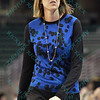 Drake head coach JENNIE BARANCZYK at the Missouri Valley Conference tournament game fifth game where Evansville upsets Drake by the score of 84-79 in overtime.