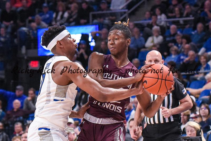 NCAA Basketball 2019: S. Illinois vs SLU Dec 01