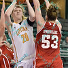 NCAAW Basketball 2014 - Loyola-C beat Bradley 75-69