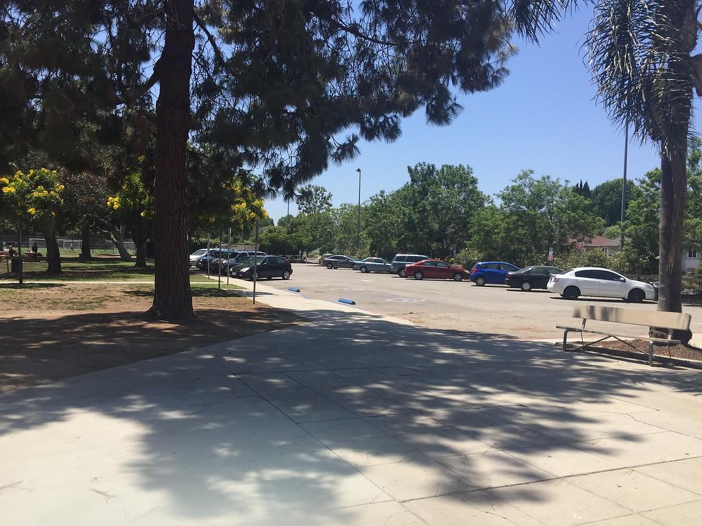 Parking Lot View #4
