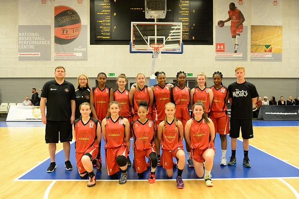 Basketball England U16 Girls Premier Final - Manchester Mystics v Southend Swifts