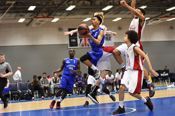 Basketball England U16 Premier Semi Final - Manchester Magic v Peckham Pride