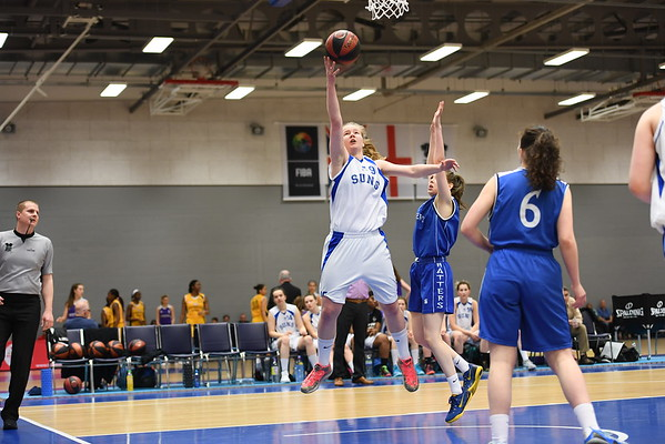 Basketball England U18 Womens Semi Final - Sheffield Hatters v Sevenoaks Suns