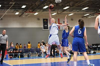 Basketball England U18 Womens Semi Final - Sheffield Hatters v Sevenoaks Suns