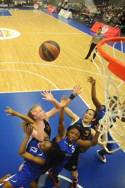 Basketball England U18 Womens Final - Peckham Pride v Sevenoaks Suns