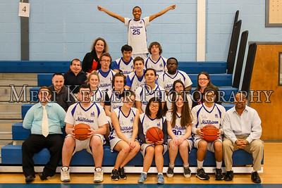 MHS Basketball Unified Team 3.9.16