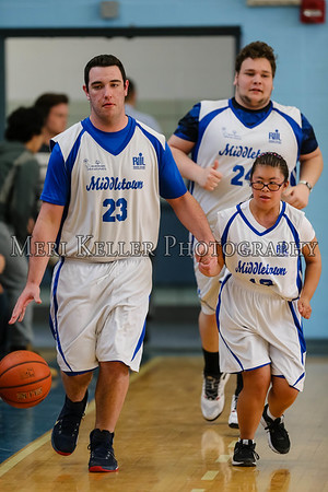 Rogers vs Middletown HS Unified Basketball 4.5.17