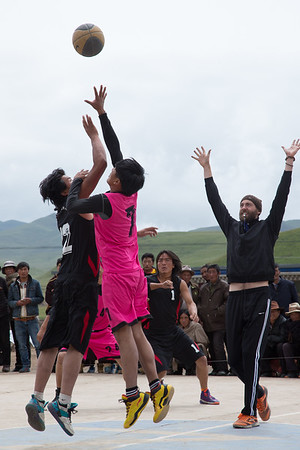 Basketball in Tibet ~ An Unexpected Journey