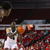 Georgia forward Derek Ogbeide (34) during the Bulldogs' game against Morehouse at Stegeman Coliseum in Athens, Ga., on Wednesday, Nov. 30, 2016. (Photo by Cory A. Cole)