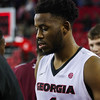 Georgia forward Yante Maten (1) during the Bulldogs' game against Morehouse at Stegeman Coliseum in Athens, Ga., on Wednesday, Nov. 30, 2016. (Photo by Cory A. Cole)