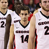 Georgia guard Brandon Young (14) during the Bulldogs' game against Morehouse at Stegeman Coliseum in Athens, Ga., on Wednesday, Nov. 30, 2016. (Photo by Cory A. Cole)