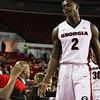 Georgia's Jordan Harris (2) during the Bulldogs' game against Vanderbilt at Stegeman Coliseum in Athens, Ga., on Tuesday, Jan. 17, 2016. (Photo by Cory A. Cole)