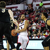 Georgia's Juwan Parker (3) during the Bulldogs' game against Vanderbilt at Stegeman Coliseum in Athens, Ga., on Tuesday, Jan. 17, 2016. (Photo by Cory A. Cole)