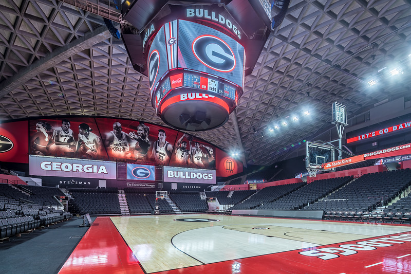 UGA's Stegeman Coliseum (Photo from Georgia Sports Communication)