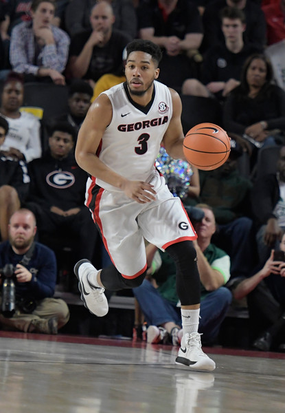 Georgia guard Juwan Parker (3)  - UGA MEN'S BASKETBALL TEAM -   (Photo by John Kelley/UGA)