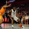 Georgia forward Yante Maten (1) during the Bulldogs' game against Tennessee at the Stegeman Coliseum in Athens, Ga. on Saturday, Feb. 17, 2018. (Photo by Caitlyn Tam)