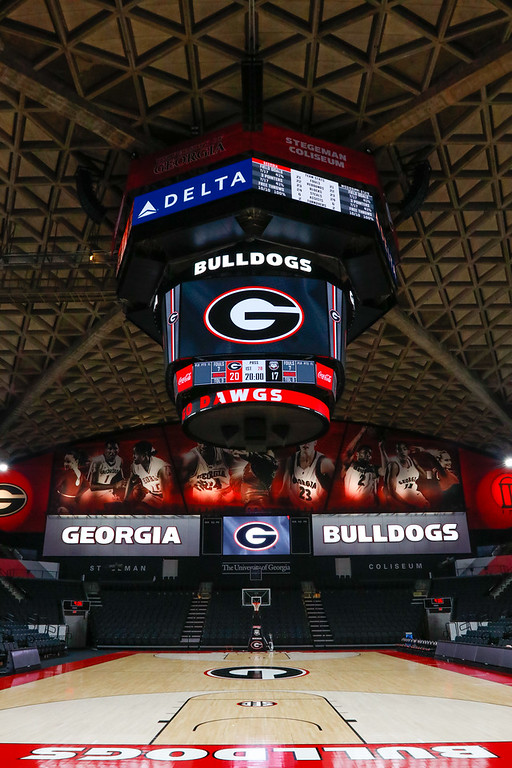 Completed Stegeman Coliseum renovations on Sunday, Sept. 25, 2017 in Athens, Georgia. (Photo by Steffenie Burns/ GA Sports Communication)