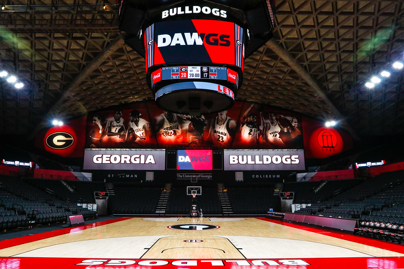 UGA's newly renovated Stegeman Coliseum. (Photo by Steffenie Burns / Georgia Sports Communication)
