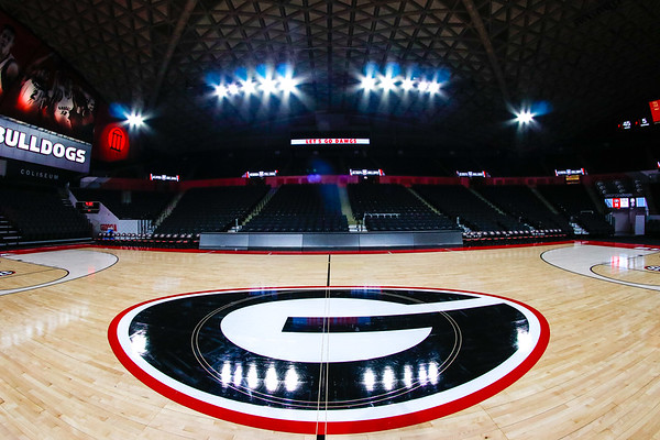 The newly renovated Stegeman Coliseum (Photo by Steffenie Burns /Georgia Sports Communication)