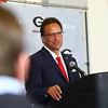Georgia's newly hired head coach Tom Crean during an introductory press conference at the Stegeman Coliseum Training Facility in Athens, Ga. on Friday, March 16, 2018. (Photo by Steffenie Burns)