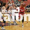 The Lady Eagles basketball team takes on the Aubrey Lady Chaparrals in Aubrey, Texas on Dec. 17, 2019. (Jaclyn Harris / The Talon News)