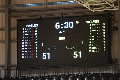 Esh Group Eagles Newcastle v Worcester Wolves, Pre Season Match, Eagles Community Arena, Newcastle, England
