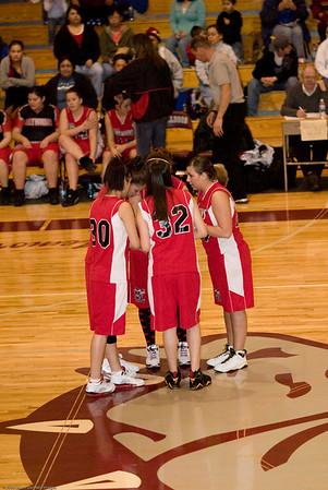 Mary M. Knight High School vs. Tahola High School, ladies varsity, February 6, 2008
