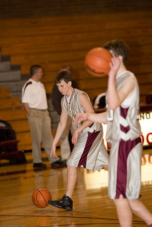 Montesano High School vs. Onalaska High School, mens jv, February 5, 2008