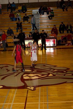 Taholah High School vs. Oakville High School, mens varsity, February 9, 2008