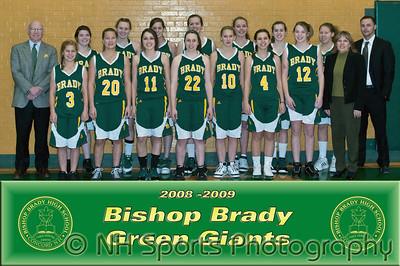 2009 Girls Varsity Basketball