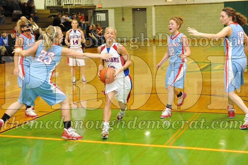 HS Bb Girls V BPCA vs Lewistown 01-31-10 011