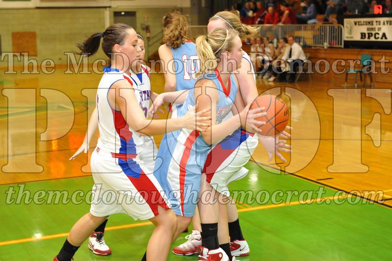 HS Bb Girls V BPCA vs Lewistown 01-31-10 042