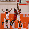 La Porte Boys JV Basketball vs North Shore 1/21/2011 :