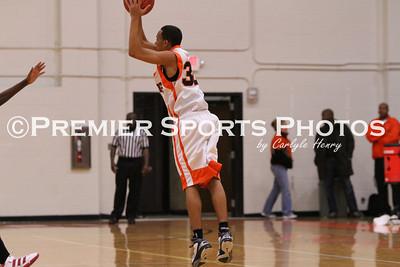 La Porte Boys JV Basketball vs North Shore 1/21/2011