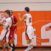 La Porte Boys Varsity Basketball vs North Shore 1/21/2011 :
