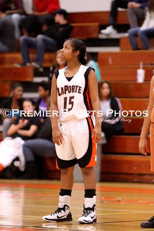 La Porte Girls JV Basketball vs Alvin 11/30/2010