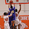 La Porte Varsity Basketball vs Channelview 2/1/2011 :