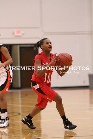 La Porte Girls JV Basketball vs Port Arthur 1/25/2011