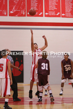 Lomax 8th B Boys Basketball vs Pearland West