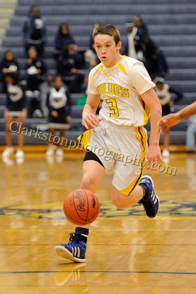 2011-12 Clarkston JV Basketball vs Southfield image 006
