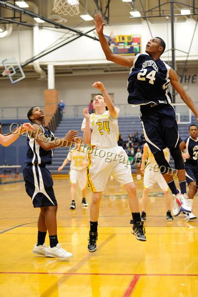 2011-12 Clarkston JV Basketball vs Southfield image 019