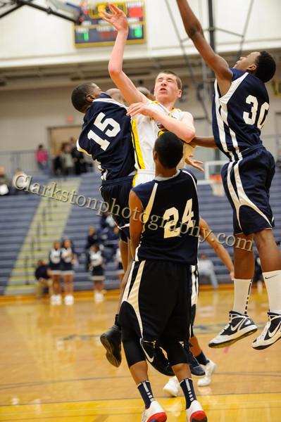 2011-12 Clarkston JV Basketball vs Southfield image 057