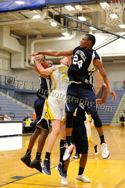 2011-12 Clarkston JV Basketball vs Southfield image 022