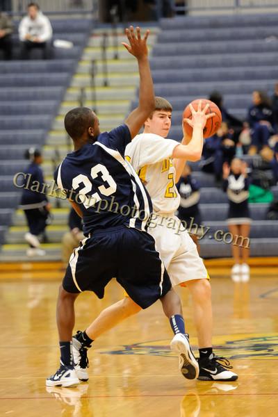 2011-12 Clarkston JV Basketball vs Southfield image 031