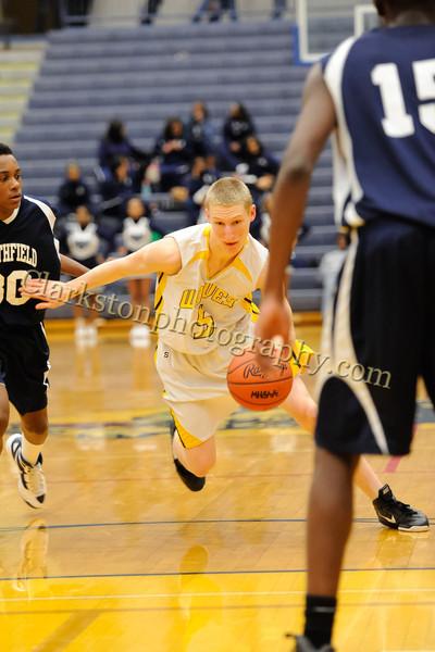 2011-12 Clarkston JV Basketball vs Southfield image 036