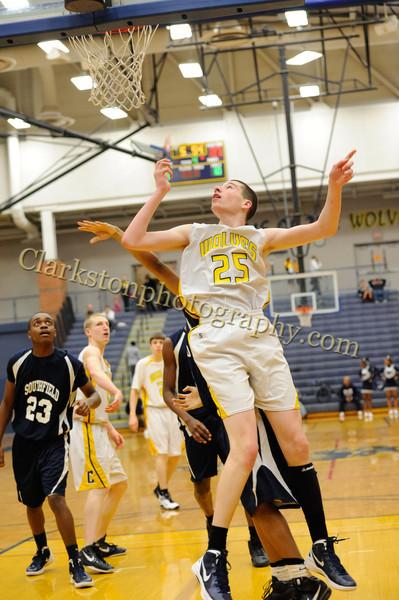 2011-12 Clarkston JV Basketball vs Southfield image 105